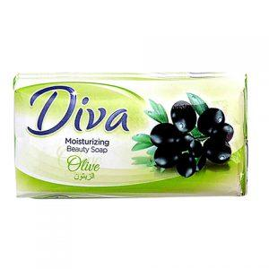 DIVA BEAUTY SOAP OLIVE 60G X 6PACK